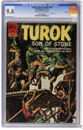 Silver Age (1956-1969):Adventure, Turok #29 File Copy (Dell, 1962) CGC NM 9.4 Off-white to white pages. Painted cover. Overstreet 2006 NM- 9.2 value = $120. C...