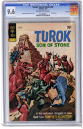 Bronze Age (1970-1979):Miscellaneous, Turok #84 File Copy (Gold Key, 1973) CGC NM+ 9.6 Off-white to whitepages. Origin and first appearance of Hutec. Painted cov...