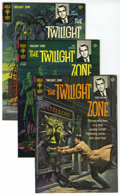 Silver Age (1956-1969):Horror, Twilight Zone File Copies Group (Gold Key, 1965-68) Condition:Average VF/NM. Issues #10, #16 (2 copies), 17, and #25 (4). A...(Total: 8 Comic Books)