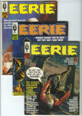 Magazines:Horror, Eerie Group (Warren, 1967-70) Condition: Average VG/FN. Illustrated horror tales from such greats as Johnny Craig, Alex Toth... (Total: 11 Comic Books)
