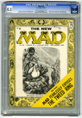 Magazines:Mad, Mad #25 (EC, 1955) CGC VF+ 8.5 Cream to off-white pages. Al Jaffee's debut as a regular writer for the magazine. Jackie Glea...