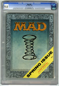 Magazines:Mad, Mad #28 (EC, 1956) CGC VF/NM 9.0 Cream to off-white pages. Last issue edited by Harvey Kurtzman, who also wrote stories here...