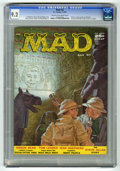 "Magazines:Mad, Mad #32 (EC, 1957) CGC NM- 9.2 Cream to off-white pages. ""Nancy""comics parody. Art by Joe Orlando, George Woodbridge, and M..."