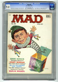 "Magazines:Mad, Mad #33 (EC, 1957) CGC VF/NM 9.0 Cream to off-white pages.""Ripley's Believe It or Not"" parody. Cowboy spoof with WallyWood..."