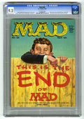 Magazines:Mad, Mad #46 (EC, 1959) CGC NM- 9.2 Off-white pages. Upside-down issue.Kelly Freas cover. Mort Drucker, Don Martin, Wally Wood, ...