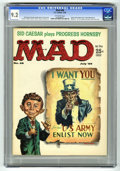 Magazines:Mad, Mad #48 (EC, 1959) CGC NM- 9.2 Off-white pages. Uncle Sam cover byKelly Freas. Perry Mason parody. Sid Caesar story. Art by...