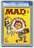 Magazines:Mad, Mad #51 (EC, 1959) CGC NM- 9.2 Off-white to white pages. KellyFreas cover. Mort Drucker, Don Martin, Wally Wood, Bob Clarke...