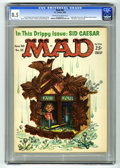 Magazines:Mad, Mad #55 (EC, 1960) CGC VF+ 8.5 Off-white to white pages. FrankKelly Freas cover. Wally Wood, Mort Drucker, Don Martin, Joe ...