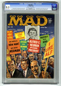 Magazines:Mad, Mad #56 (EC, 1960) CGC VF+ 8.5 Off-white to white pages. FrankKelly Freas cover. Wally Wood, Al Jaffee, George Woodbridge, ...