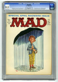 Magazines:Mad, Mad #63 (EC, 1961) CGC VF+ 8.5 Off-white to white pages. KellyFreas cover. Mort Drucker, Wally Wood, Dave Berg, Joe Orlando...