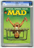 Magazines:Mad, Mad #87 Gaines File Copy (EC, 1964) CGC NM+ 9.6 Off-white to whitepages. Special Spring issue. Presidential fold-in by Al J...