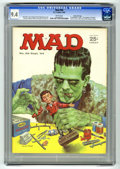 Magazines:Mad, Mad #89 Gaines File Copy (EC, 1964) CGC NM 9.4 White pages. Norman Mingo cover featuring Frankenstein's monster. Mort Drucke...