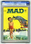 Magazines:Mad, Mad #98 Gaines FIle Copy (EC, 1965) CGC NM 9.4 White pages. NormanMingo cover. Dave Berg, Mort Drucker, Al Jaffee, George W...