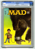 """Magazines:Mad, Mad #112 Gaines File Copy (EC, 1967) CGC NM+ 9.6 White pages.Beatles spoof. """"Tarzan"""" TV satire. """"The Professionals"""" movie s..."""