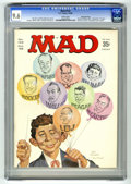 Magazines:Mad, Mad #122 Gaines File Copy (EC, 1968) CGC NM+ 9.6 White pages.Norman Mingo and Mort Drucker cover. Ronald Reagan photo insid...
