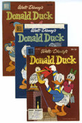 Memorabilia:Miscellaneous, Donald Duck Shop Dummy Cover Proof Group of 5 (Dell, 1954-60). Donald Duck cover proofs make up this Western Publishing lot of f... (Total: 5 Comic Books)