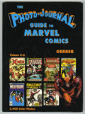 Memorabilia:Comic-Related, Photo-Journal Guide to Marvel Comics Vol. 4 (Gerber, 1991). Thisbeautiful hardback book reproduces virtually every Silver a...