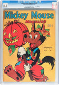 Platinum Age (1897-1937):Miscellaneous, Mickey Mouse Magazine V3#2 File Copy (K. K. Publications/WesternPublishing Co., 1937) CGC VF+ 8.5 Off-white to white pages....