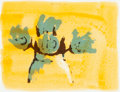 Prints:Contemporary, HELEN FRANKENTHALER; NICHOLAS KRUSHENICH; ROBERT KULICKE; MONLEVINSON and CLAES OLDENBURG. Untitled (from R... (Total: 6Items)