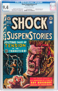 Golden Age (1938-1955):Horror, Shock SuspenStories #7 (EC, 1953) CGC NM 9.4 Off-white to whitepages....