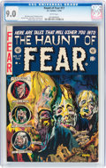 Golden Age (1938-1955):Horror, Haunt of Fear #17 (EC, 1953) CGC VF/NM 9.0 White pages....