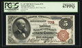 National Bank Notes:New York, New York, NY - $5 1882 Brown Back Fr. 467 The NB of Commerce Ch. # 733. ...