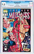 Modern Age (1980-Present):Superhero, The New Mutants #98 (Marvel, 1991) CGC NM/MT 9.8 White pages....