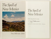 Tony Hillerman, editor. SIGNED. The Spell of New Mexico. Albuquerque: University of New Mexico