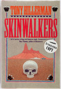 Books:Mystery & Detective Fiction, Tony Hillerman. SIGNED. Skinwalkers. New York: Harper &Row, [1986]. First edition. Signed by the author. Publis...