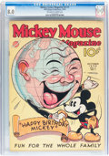 Platinum Age (1897-1937):Miscellaneous, Mickey Mouse Magazine V2#1 (K. K. Publications/ Western PublishingCo., 1936) CGC VF 8.0 Off-white to white pages....