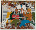 Prints, DAVID MICHAEL BATES (American, b. 1952). The Musicians. Color lithograph. 30-1/4 x 36-1/4 inches (76.8 x 92.1 cm) (sheet...