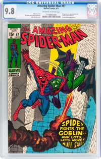 The Amazing Spider-Man #97 (Marvel, 1971) CGC NM/MT 9.8 Off-white to white pages