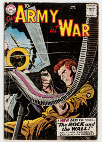 Our Army at War #83 (DC, 1959) Condition: GD