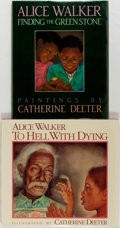 Books:Children's Books, Alice Walker. To Hell with Dying [and:] Finding theGreenstone. Illustrated by Catherine Deeter. New... (Total: 2Items)