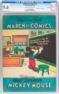 Golden Age (1938-1955):Funny Animal, March of Comics #74 Mickey Mouse - File Copy (K. K. Publications,Inc., 1951) CGC NM+ 9.6 Off-white to white pages....