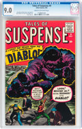 Silver Age (1956-1969):Horror, Tales of Suspense #9 (Marvel, 1960) CGC VF/NM 9.0 Cream tooff-white pages....