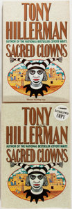 Books:Mystery & Detective Fiction, Tony Hillerman. SIGNED. Sacred Clowns. New York: HarperCollins, [1993]. Two copies, one first edition and one first...(Total: 2 Items)