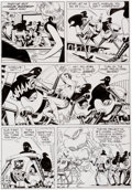 Original Comic Art:Panel Pages, Russ Manning Magnus, Robot Fighter #19 Page 3 Original Art(Gold Key, 1967)....
