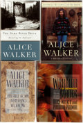 Books:Social Sciences, Alice Walker. Her Blue Body Everything We Know, The Same RiverTwice, Anything We Love Can Be Saved [and:] Warri... (Total:4 Items)