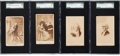 Non-Sport Cards:Lots, Circa 1870's Washington & Lincoln SGC Graded CDVs (4). ...