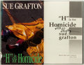 "Books:Mystery & Detective Fiction, Sue Grafton. SIGNED. ""H"" is for Homicide. New York: HenryHolt, [1990]. First edition. Signed by the author. Pub..."