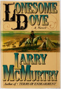 Books:Literature 1900-up, Larry McMurtry. Lonesome Dove. New York: Simon and Schuster,[1985]. First edition. Publisher's binding and orig...