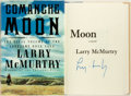 Books:Literature 1900-up, Larry McMurtry. SIGNED. Comanche Moon. New York: Simon andSchuster, [1997]. First edition. Signed by the author. ...