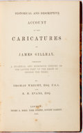 Books:Art & Architecture, Thomas Wright and R.H. Evans. Historical and Descriptive Account of the Caricatures of James Gillray. London: Henry ...