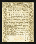 Colonial Notes:Connecticut, Connecticut June 1, 1780 40s About New.. ...