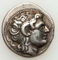 Ancients:Greek, Ancients: THRACIAN KINGDOM. Lysimachus (323-281 BC). AR tetradrachm(16.96 gm)....