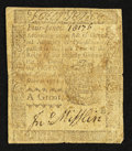 Colonial Notes:Pennsylvania, Pennsylvania April 3, 1772 4d Very Good-Fine.. ...