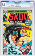 Bronze Age (1970-1979):Superhero, Skull, the Slayer #6 (Marvel, 1976) CGC NM+ 9.6 White pages....