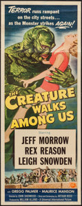 "Movie Posters:Horror, The Creature Walks Among Us (Universal International, 1956). Insert(14"" X 36""). Horror.. ..."