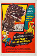 """Movie Posters:Science Fiction, The Beast of Hollow Mountain (United Artists, 1956). One Sheet (27""""X 41""""). Science Fiction.. ..."""